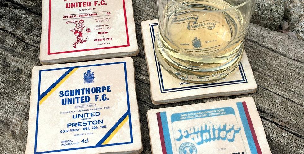 Scunthorpe United Football Coasters