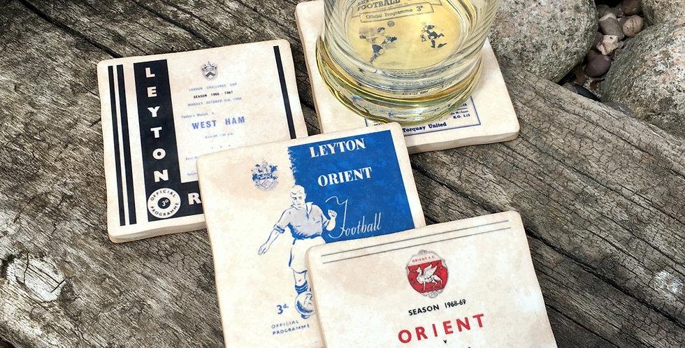 Leyton Orient Football Coasters
