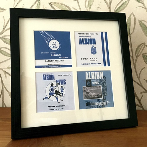 Brighton & Hove Albion Framed Print