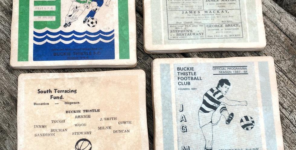Buckie Thistle Football Coasters