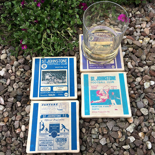St Johnstone Football Coasters
