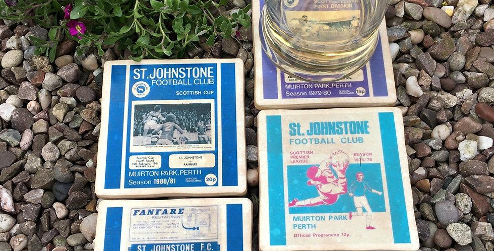 St Johnstone Football Coasters