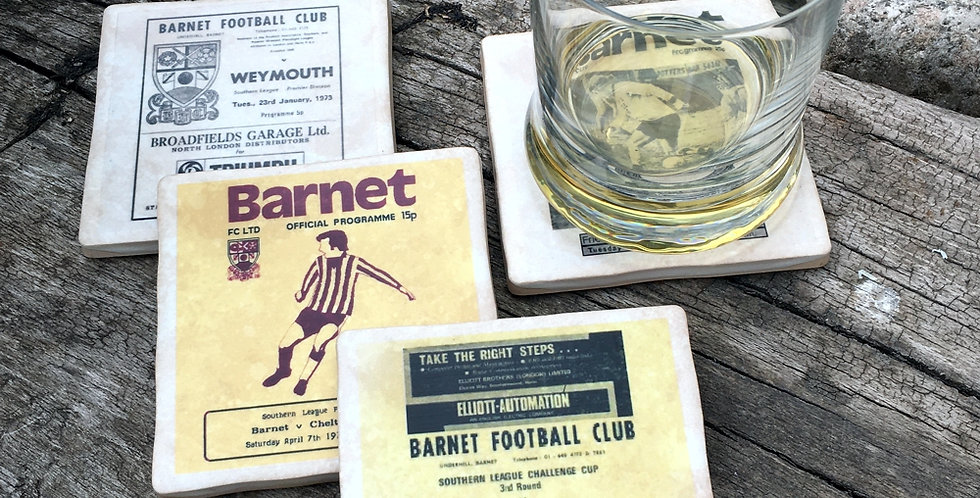 Barnet Football Coasters