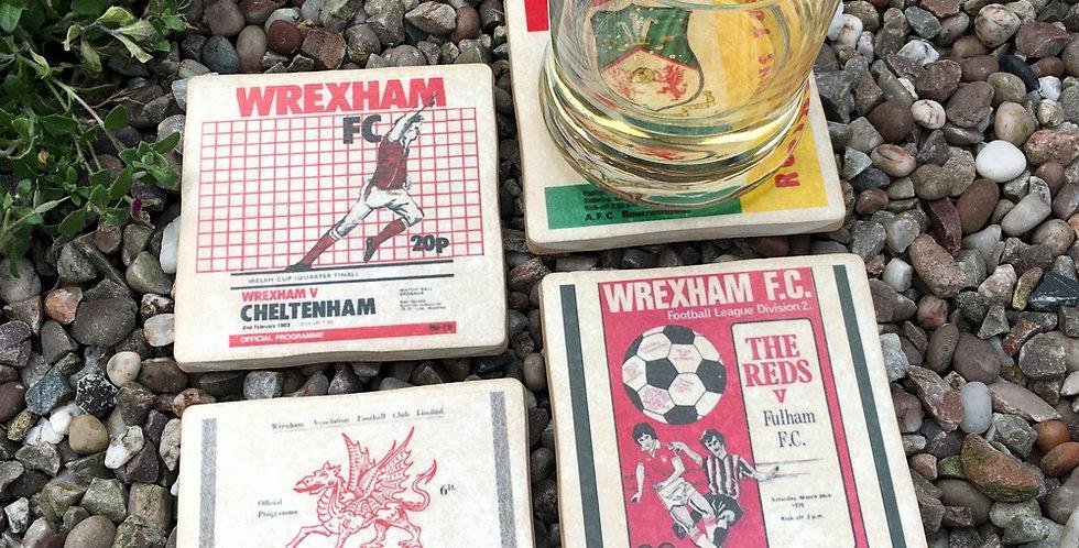 Wrexham Football Coasters