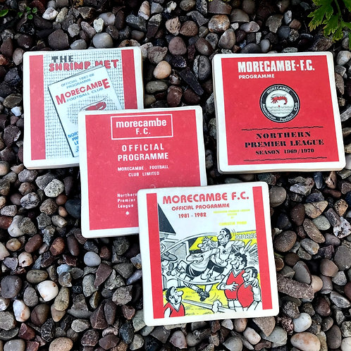 Morecambe Footbal Coasters