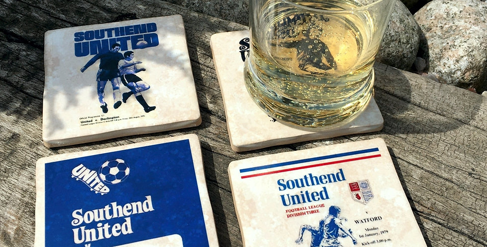 Southend United Football Coasters