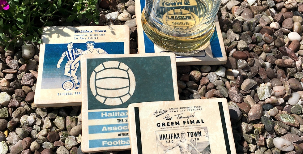 Halifax Town Football Coasters