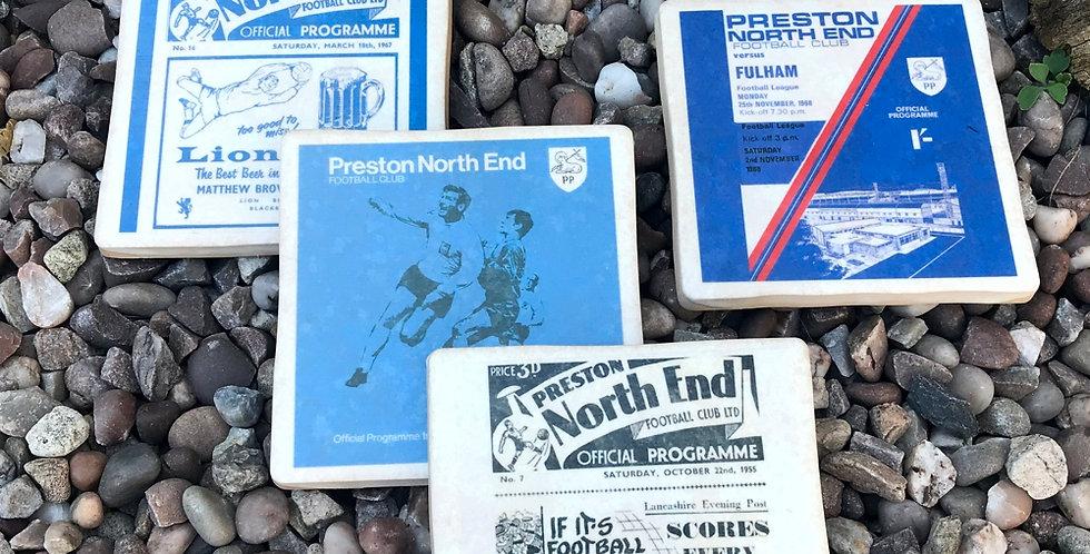 Preston North End Football Coasters