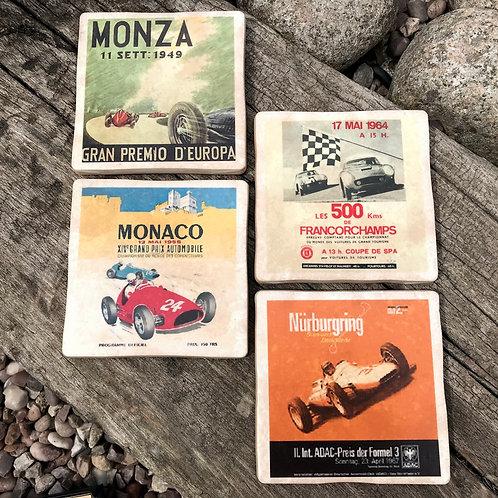 European Racing Circuits Coasters