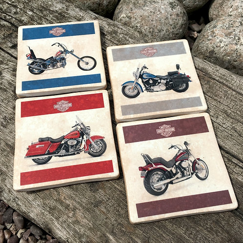 Harley Davidson Coasters - Posters