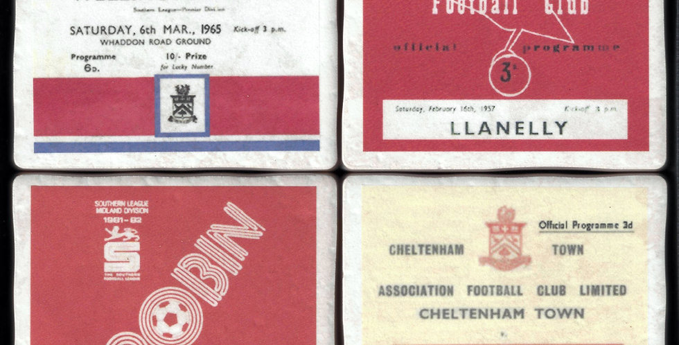 Chletenahm Town Football Coasters