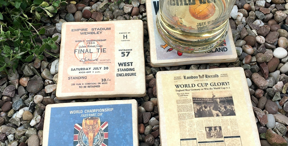 World Cup 1966 Football Coasters