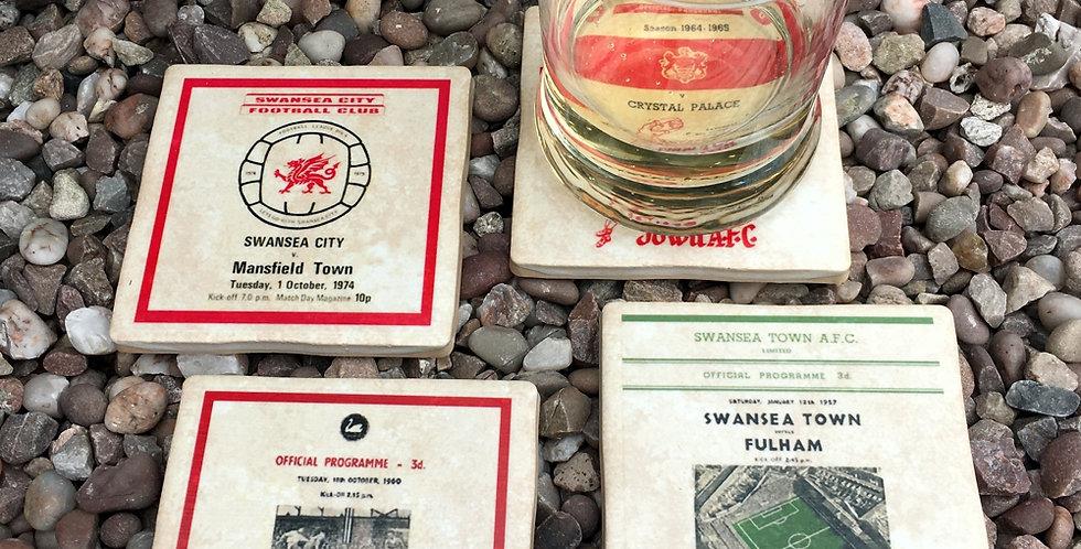 Swansea Town Football Coasters