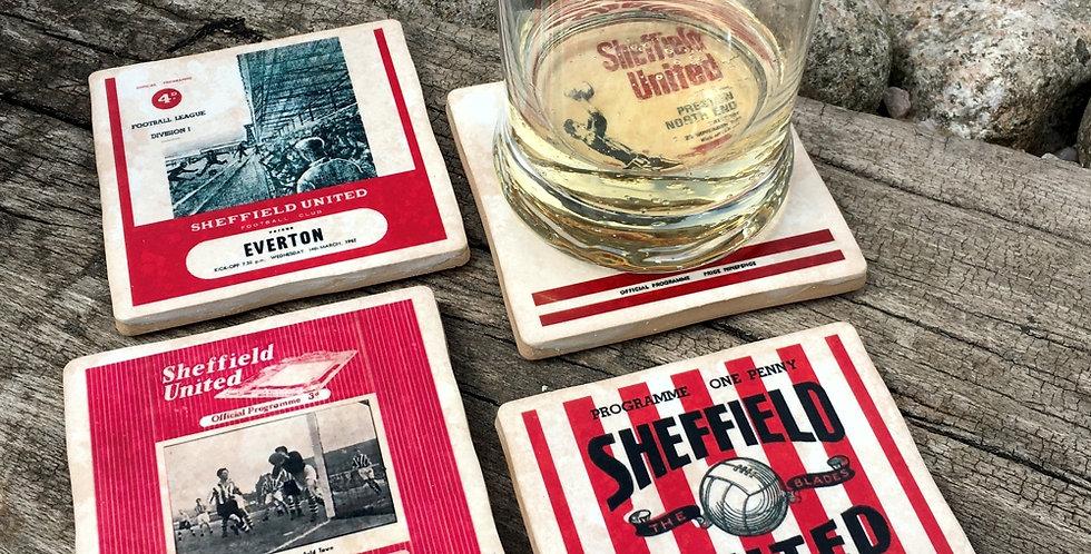 Sheffield United Football Coasters