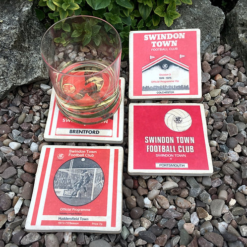Swindon Town Football Coasters