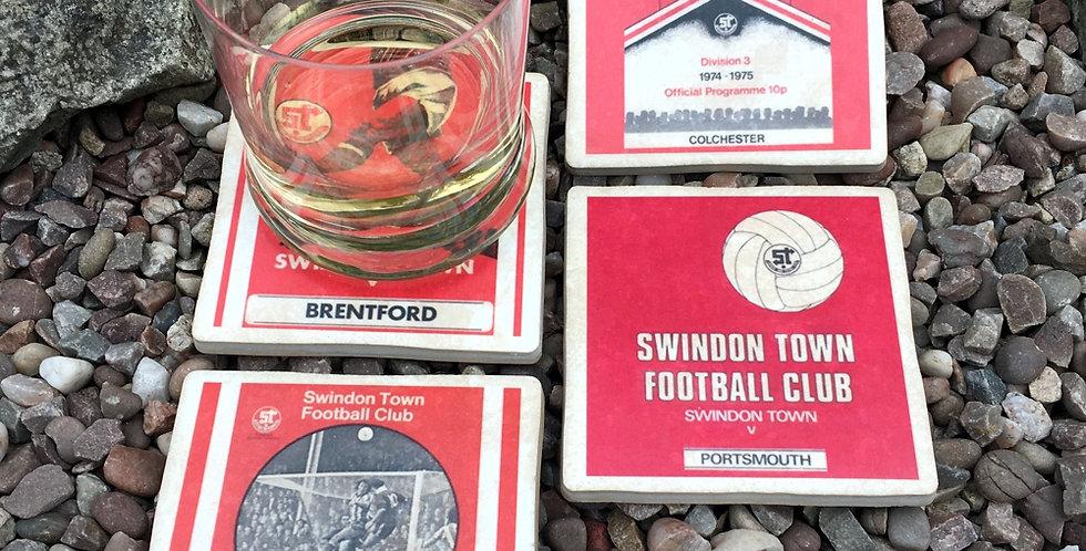 Swindon Town Football Coasters