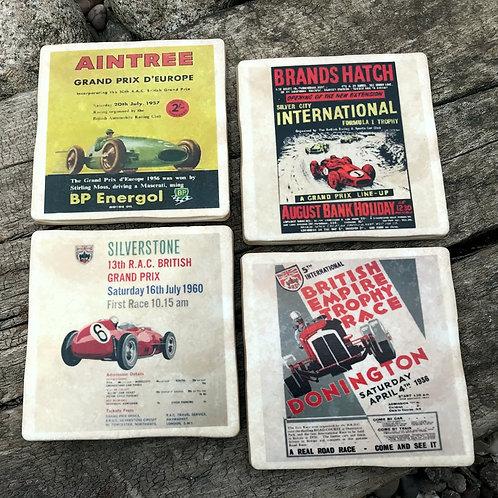 British Racing Circuits Coasters