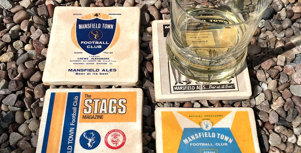 Mansfield Town Football Coasters