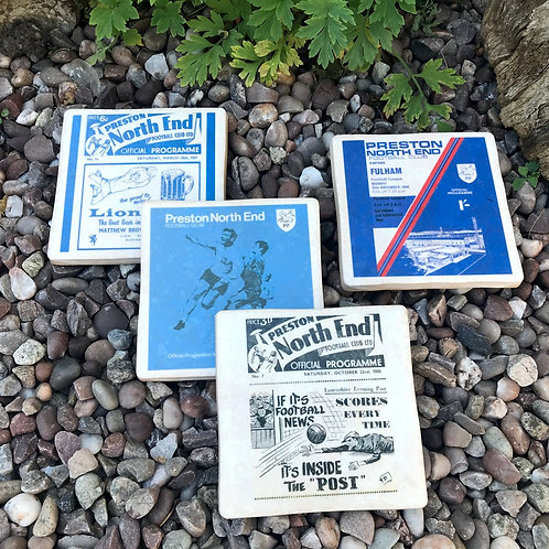 Preston North End Football Coasters