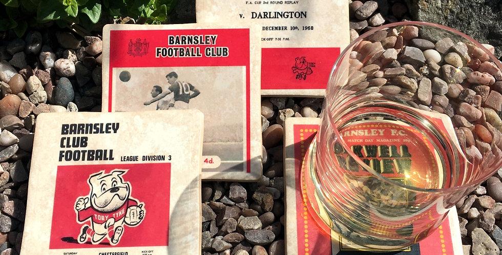 Barnsley Football Coasters
