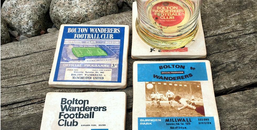 Bolton Wanderers Football Coasters