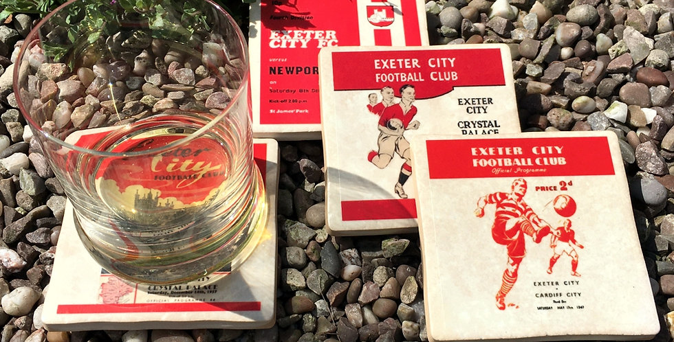 Exeter City Football Coasters