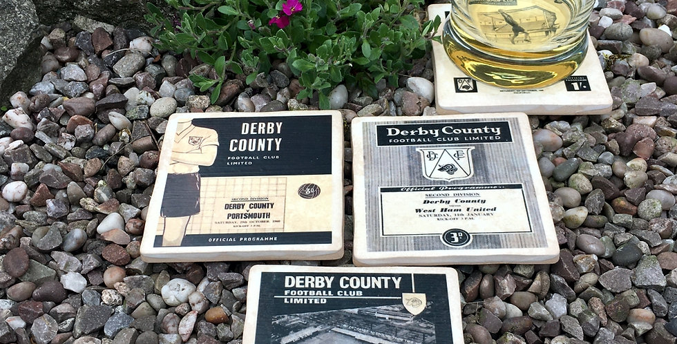 Derby County Football Coasters