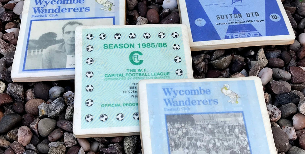 Wycombe Wanderers Football Coasters