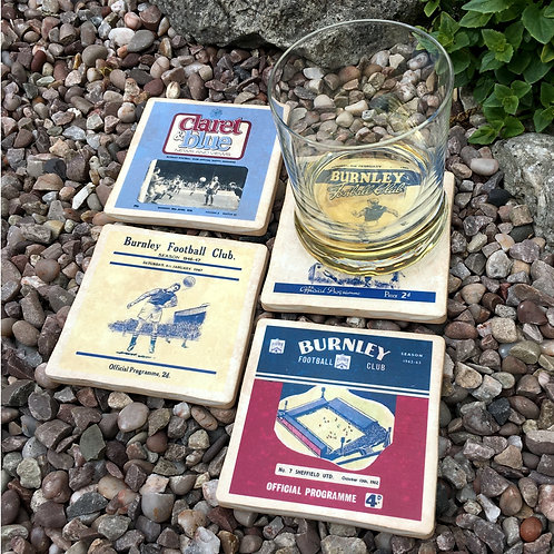 Burnley Football Coasters