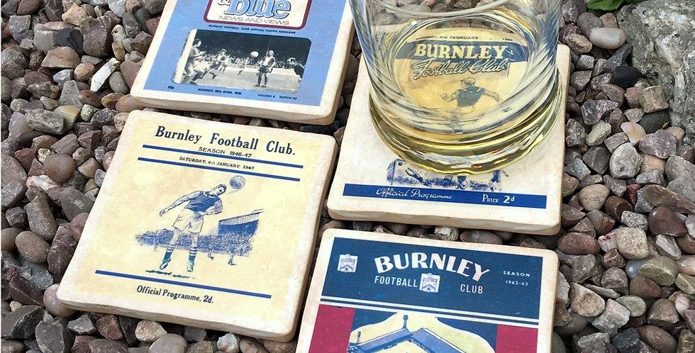 Burnley Football Coasters