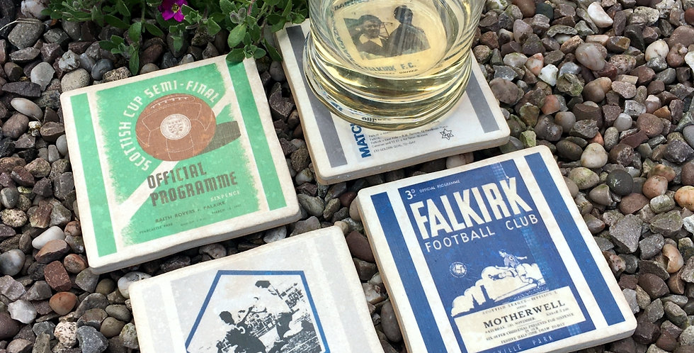 Falkirk Football Coasters