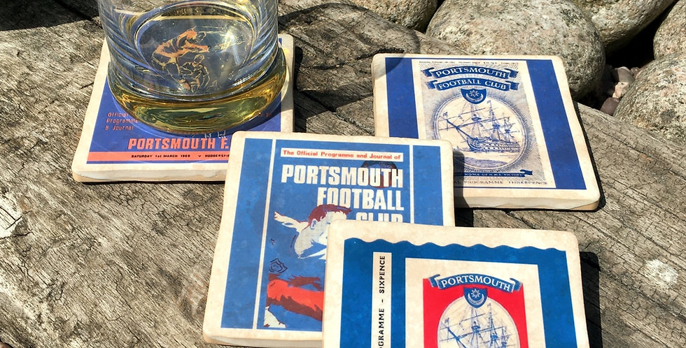 Portsmouth Football Coasters