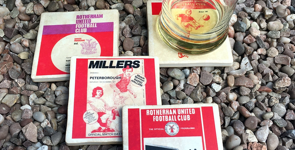 Rotherham United Football Coasters