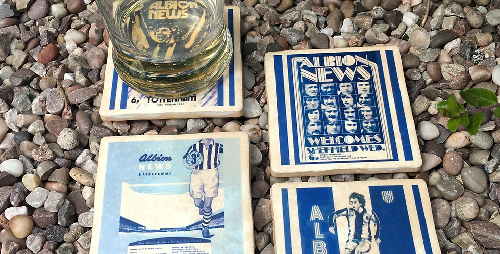 West Bromwich Albion Football Coasters