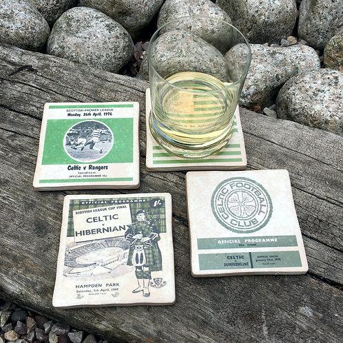 Celtic Football Coasters