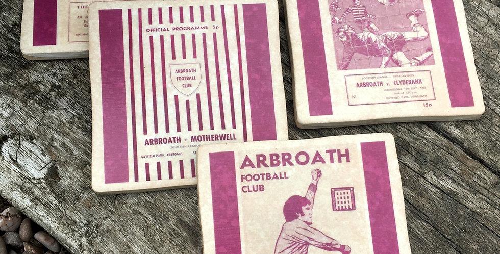 Arbroath Football Coasters