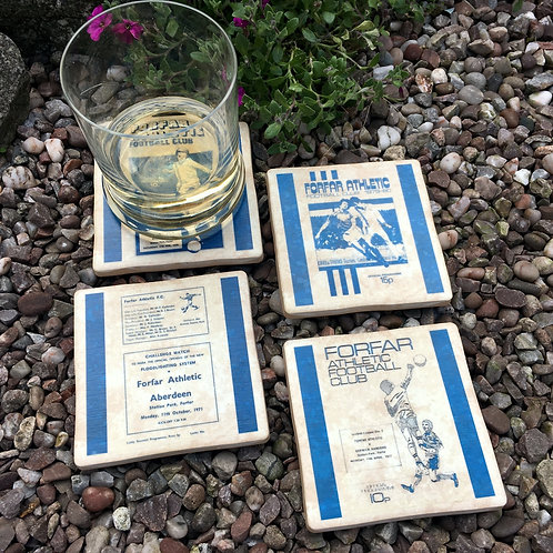 Forfar Football Coasters