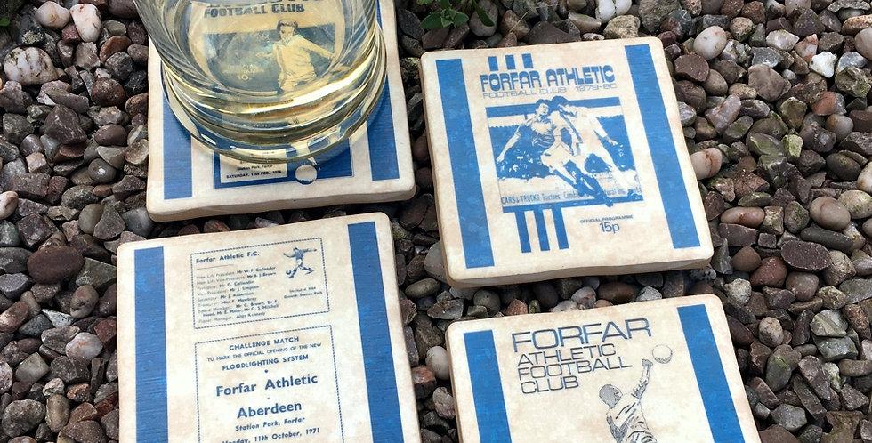 Forfar Football Coasters