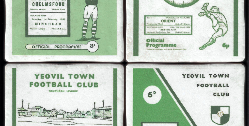 Yeovil Town Football Coasters