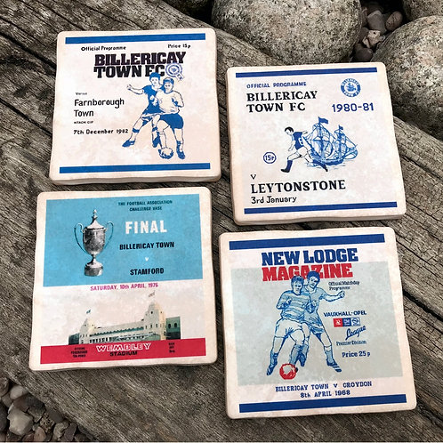 Billericay Football Coasters