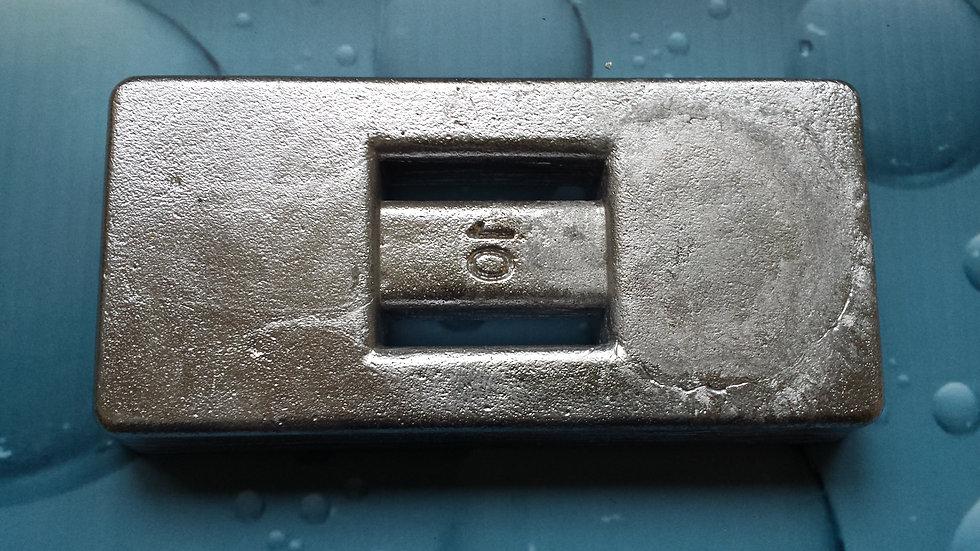 Plomb ceinture / Pochette 10 lb