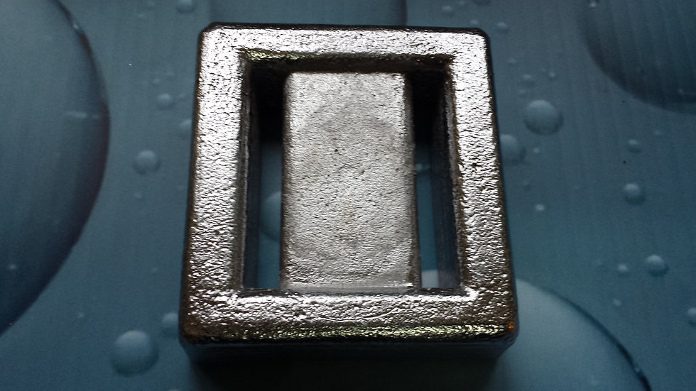 Plombs ceinture carré 3 lb