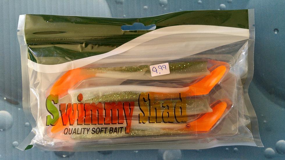 Swimmt Eels 5 1/2 (Orange Tail)
