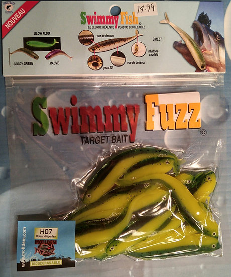 Swimmy Fuze green yellow (huile H07)