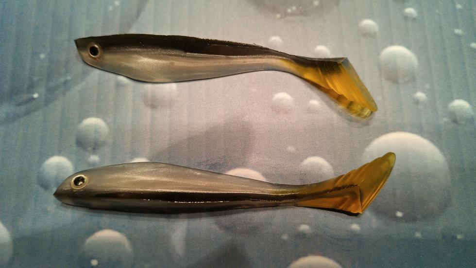 Fish Bait 4 pouces  5/pqt