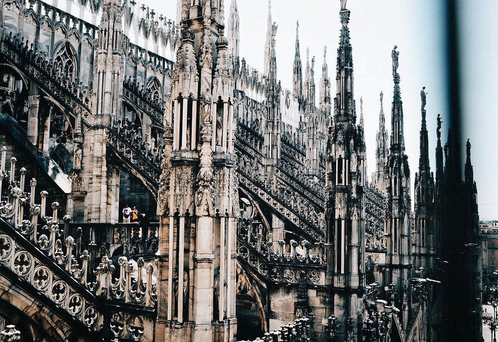 The Rooftop of the Duomo di Milano