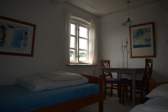 Værelse i det oprindelige stuehus.