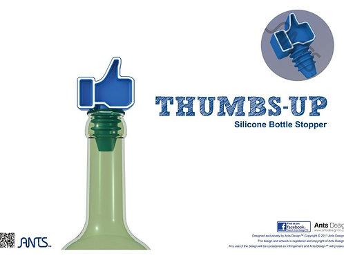 Thumbs up bottle stopper