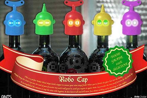 Robot Cap bottle stopper