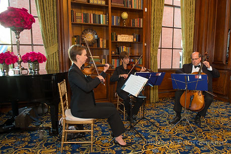 Performing at Hampshire House